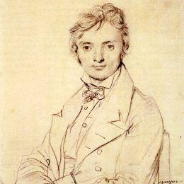 《讓彼埃爾科爾特》讓·奧古斯特·多米尼克·安格爾(Jean Auguste Dominique Ingres)高清作品欣賞