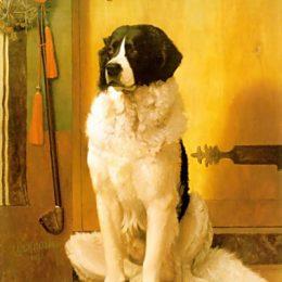 《狗的研究》讓·萊昂·熱羅姆(Jean-Leon Gerome)高清作品欣賞