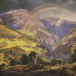 《斯塔海姆》約翰·克里斯蒂安·代赫勒(Johan Christian Dahl)高清作品欣賞