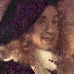 《妓女,細節(假設自畫像)》約翰內斯·維米爾(Johannes Vermeer)高清作品欣賞
