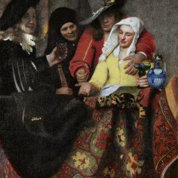 《老鴇》約翰內斯·維米爾(Johannes Vermeer)高清作品欣賞