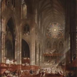 《維多利亞女王的加冕禮》約翰·馬丁(John Martin)高清作品欣賞