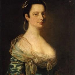 《淑女畫像》約瑟夫·萊特(Joseph Wright)高清作品欣賞