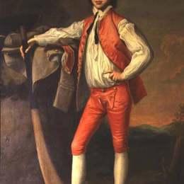 《威廉·菲茨赫伯特爵士小時候》約瑟夫·萊特(Joseph Wright)高清作品欣賞