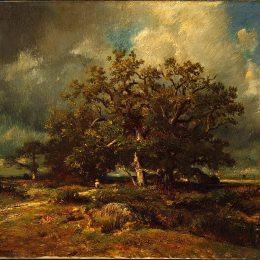 《老橡樹》朱班·杜雷(Jules Dupre)高清作品欣賞