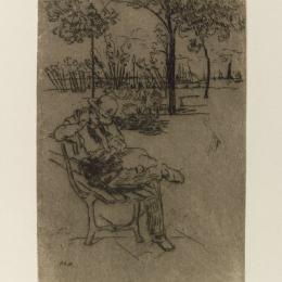 《自由女神像》朱利安·奧爾登·威爾(Julian Alden Weir)高清作品欣賞