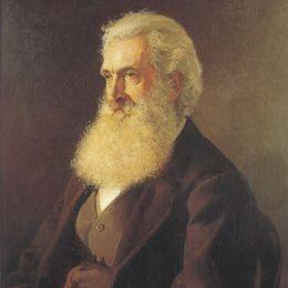 朱利安·艾斯通(Julian Ashton)高清作品:Portrait of Louis Buvelot