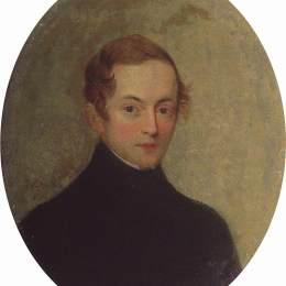 《未知的肖像》卡爾·布留洛夫(Karl Bryullov)高清作品欣賞