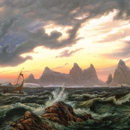 克努德巴德(Knud Baade)高清作品:The Island Tr&amp?nen in Nordland