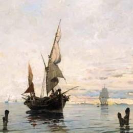 《引入捕撈》康斯坦丁·沃拉納基思(Konstantinos Volanakis)高清作品欣賞