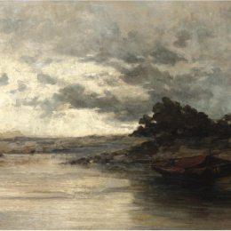 《河流》康斯坦丁·沃拉納基思(Konstantinos Volanakis)高清作品欣賞