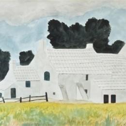 《白色農舍》萊昂·施皮利亞特(Leon Spilliaert)高清作品欣賞