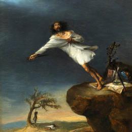 《諷刺浪漫自殺》萊昂納多·阿倫扎·涅托(Leonardo Alenza)高清作品欣賞