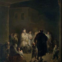 《圣母院》萊昂納多·阿倫扎·涅托(Leonardo Alenza)高清作品欣賞