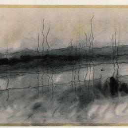 《神秘河》萊昂內爾·法寧格(Lyonel Feininger)高清作品欣賞