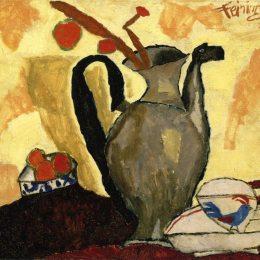 《罐頭靜物》萊昂內爾·法寧格(Lyonel Feininger)高清作品欣賞