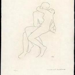 《羅丹后的細節選擇》馬塞爾·杜尚(Marcel Duchamp)高清作品欣賞