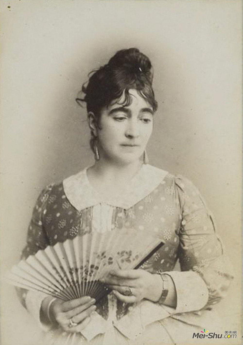 玛丽布鲁克曼(Marie Bracquemond)