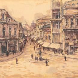 《走向Lipscani》尼古拉·達拉斯庫(Nicolae Darascu)高清作品欣賞