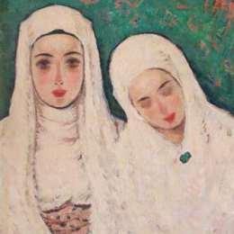 《修女》尼古拉托尼扎(Nicolae Tonitza)高清作品欣賞