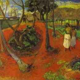 《大溪地田園詩》保羅·高更(Paul Gauguin)高清作品欣賞