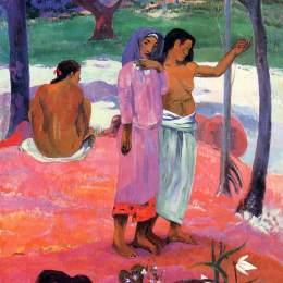 《呼叫》保羅·高更(Paul Gauguin)高清作品欣賞