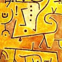 《紅色背心》保羅·克利(Paul Klee)高清作品欣賞