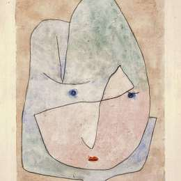 《這朵花想凋謝》保羅·克利(Paul Klee)高清作品欣賞