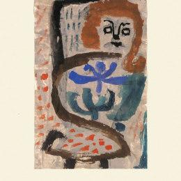 《蜂擁》保羅·克利(Paul Klee)高清作品欣賞