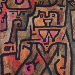 《森林女巫》保羅·克利(Paul Klee)高清作品欣賞