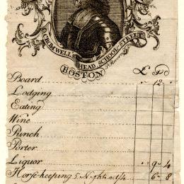 保羅·列維爾(Paul Revere)高清作品:Cromwell's Head Inn