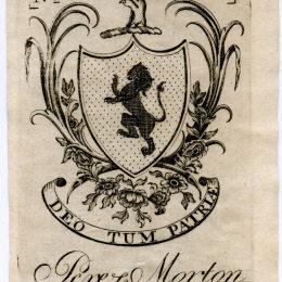 《莫頓的藏書票?!繁A_·列維爾(Paul Revere)高清作品欣賞
