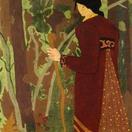 《仙女與騎士》保羅·塞律西埃(Paul Serusier)高清作品欣賞