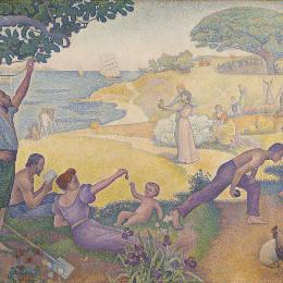 《保羅西涅克,1893年95,和諧的時期,布面油畫,3》保羅·西涅克(Paul Signac)高清作品欣賞