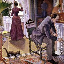 《星期日》保羅·西涅克(Paul Signac)高清作品欣賞