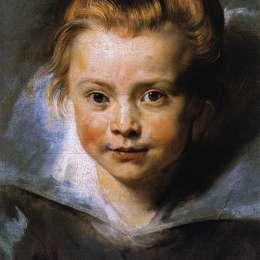 彼得·保羅·魯本斯(Peter Paul Rubens)高清作品:Portrait of Clara Serena Rubens