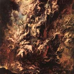 《該死的墮落》彼得·保羅·魯本斯(Peter Paul Rubens)高清作品欣賞