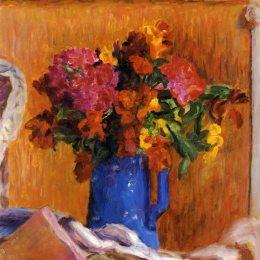 《藍鍋》皮爾·波納爾(Pierre Bonnard)高清作品欣賞