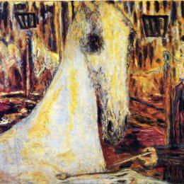 《馬戲團馬》皮爾·波納爾(Pierre Bonnard)高清作品欣賞