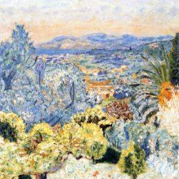《阿祖河》皮爾·波納爾(Pierre Bonnard)高清作品欣賞