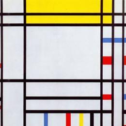 《協和廣場》皮特·蒙德里安(Piet Mondrian)高清作品欣賞