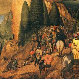 《圣保羅的皈依》彼得·勃魯蓋爾(Pieter Bruegel the Elder)高清作品欣賞