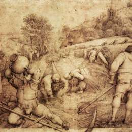《夏天》彼得·勃魯蓋爾(Pieter Bruegel the Elder)高清作品欣賞