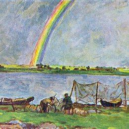 《彩虹》孔科洛夫茨基(Pyotr Konchalovsky)高清作品欣賞