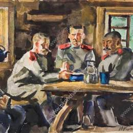 《士兵》孔科洛夫茨基(Pyotr Konchalovsky)高清作品欣賞