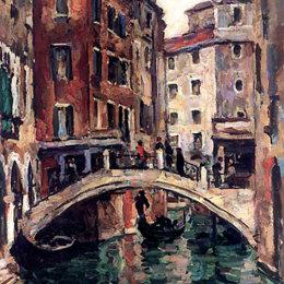 《威尼斯使徒的橋梁》孔科洛夫茨基(Pyotr Konchalovsky)高清作品欣賞