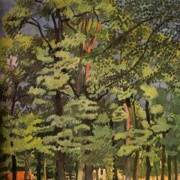 《法萊斯景觀》勞爾·杜飛(Raoul Dufy)高清作品欣賞
