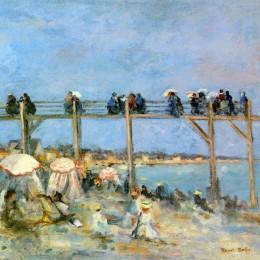 《圣安德烈斯海灘》勞爾·杜飛(Raoul Dufy)高清作品欣賞