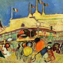 《賭場》勞爾·杜飛(Raoul Dufy)高清作品欣賞