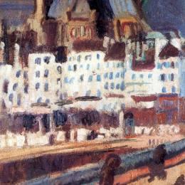 《圣吉爾瓦教堂》勞爾·杜飛(Raoul Dufy)高清作品欣賞